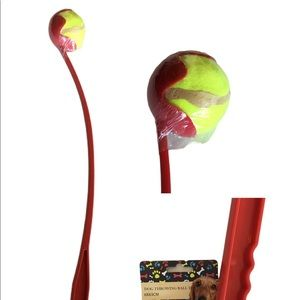 Tennis Ball & Thrower Set For Pet Exercise